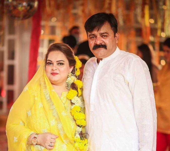 Minal Khan's parents