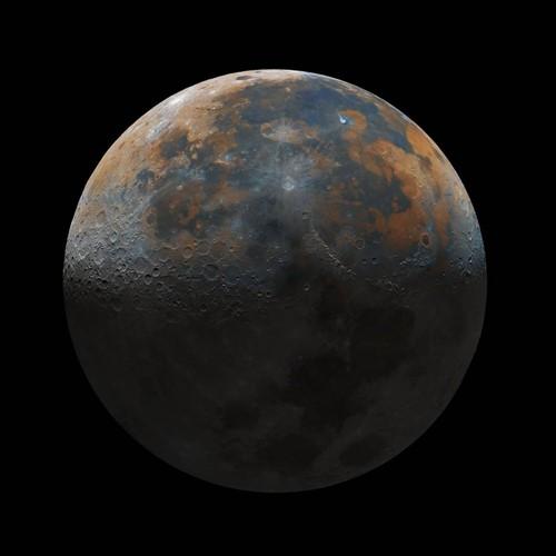 प्रथमेश जाजू द्वारा कब्जा किया गया चंद्रमा