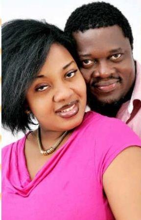 Muyiwa Ademola with his wife