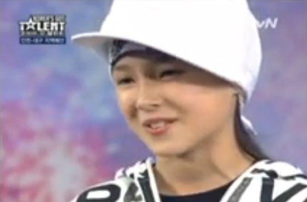 कोरिया गॉट टैलेंट में नैन्सी (2011)