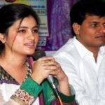 Navneet Kaur Rana with her husband