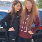 Neelam with her sister