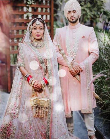 Neha Kakkar's wedding picture