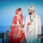 Nusrat Jahan With Her Husband Nikhil Jain On Their Wedding