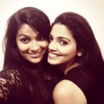 Pooja Sawant with her sister