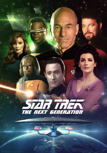 Poster of Star Trek- The Next Generation