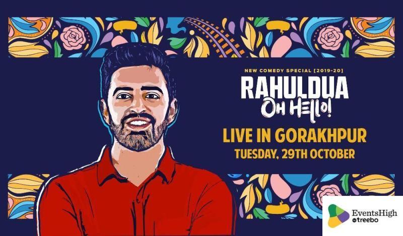 राहुल दुआ का ओह हैलो पोस्टर