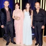 Rajesh Roshan with his family
