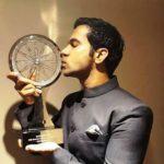 Rajkummar Rao With His CNN-IBN Indian of the Year - Entertainment