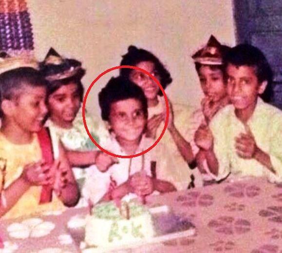 राजकुमार राव की बचपन की तस्वीर