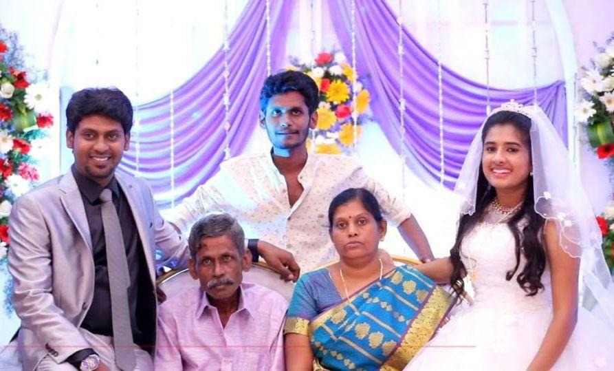 Rio Raj with his Family