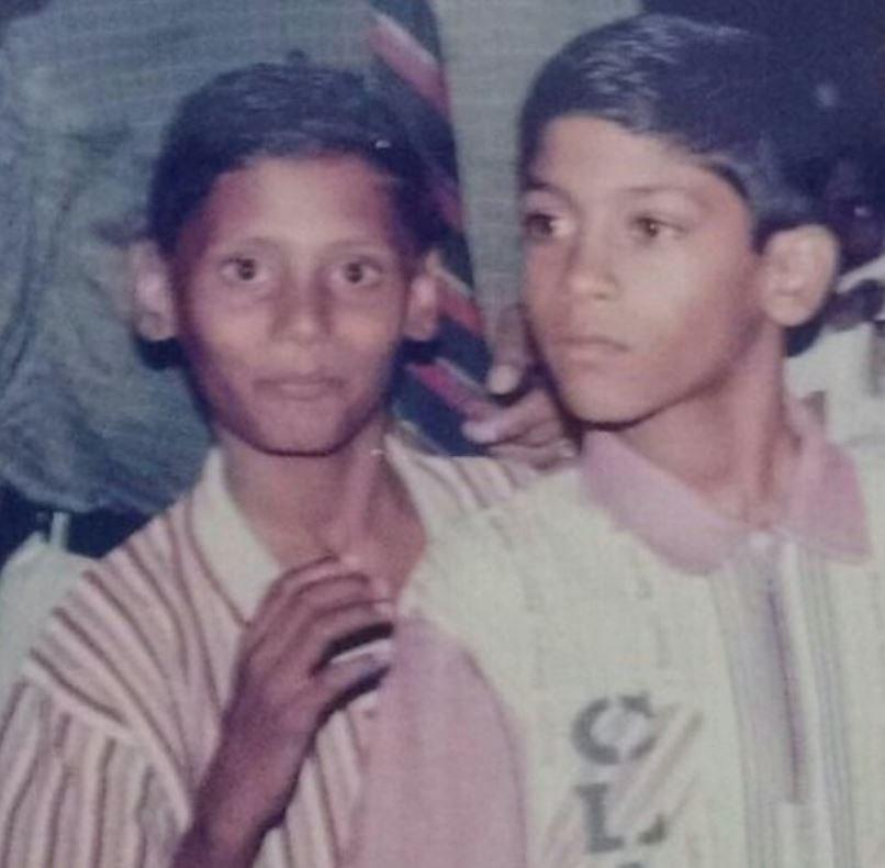 रियो राज की बचपन की तस्वीर