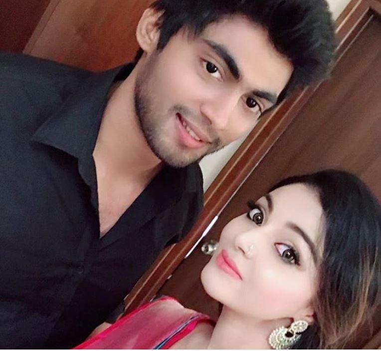 Sanam Shetty with her ex-boyfriend