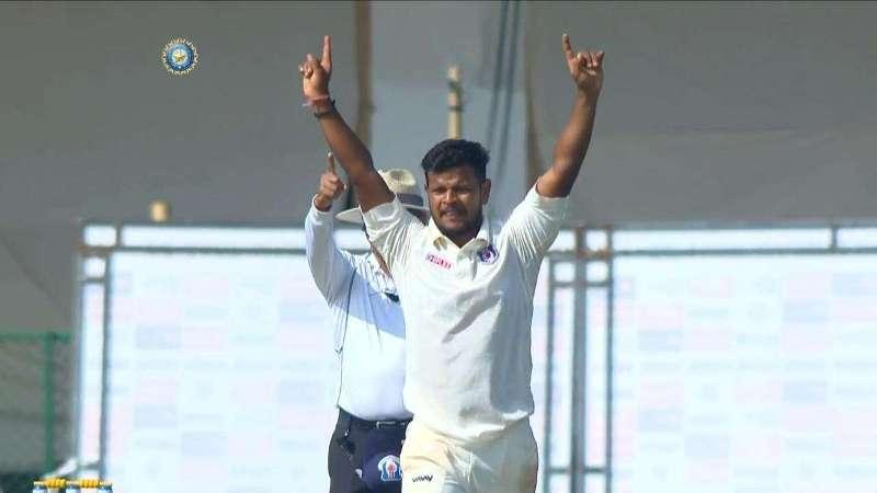रणजी ट्रॉफी में कर्नाटक के खिलाफ सौरभ कुमार