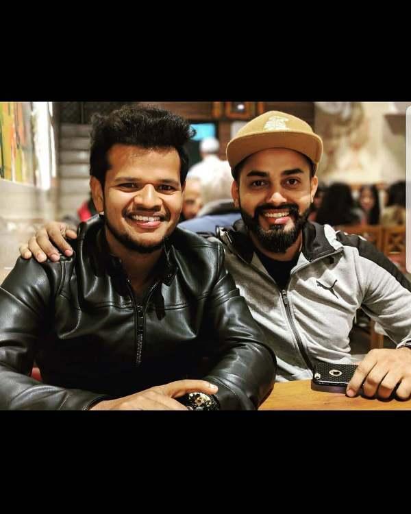 Saurabh Kumar with his brother