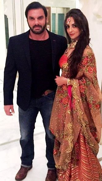Seema Khan with Sohail Khan