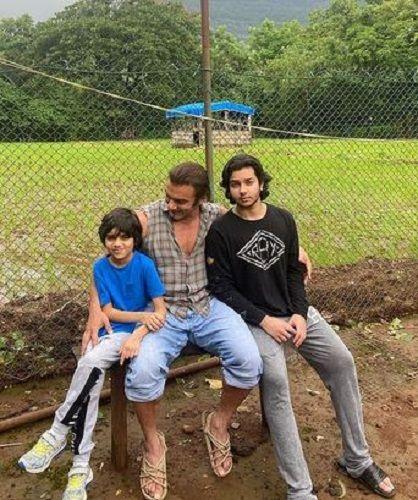 Seema Khan's Husband and Sons