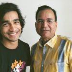 Shantanu Maheshwari with his father