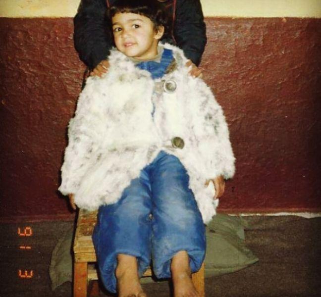 बचपन में शेहला राशिद शोरा Sho