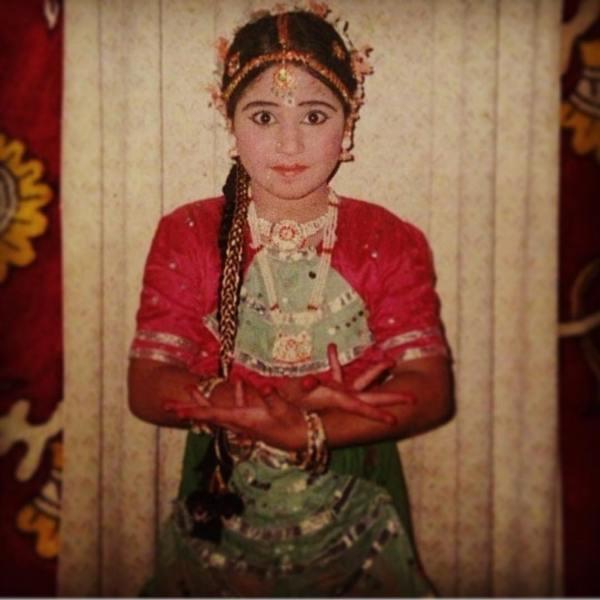 Shweta Tripathi During A Dance Performance