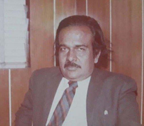 Subodh Kumar Jaiswal's father