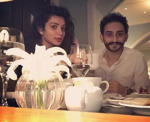 Sukirti Kandpal and Her Brother