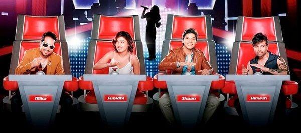 सुनिधि चौहान ने 'द वॉयस इंडिया' (2015) को जज किया