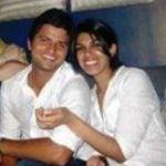 Suresh Raina with his sister