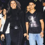 Sushmita Sen with Mudassar Aziz