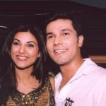 Sushmita Sen with Randeep Hooda