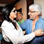 Sushmita Sen with Vikram Bhatt