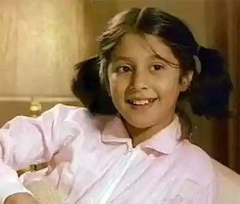 उर्मिला मातोंडकर बचपन की तस्वीर