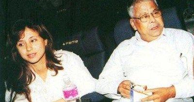 Urmila Matondkar with her father Shivinder Singh