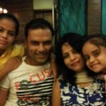Vaishnavvi Shukla with her family