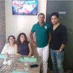Vikram Chatterjee with his family