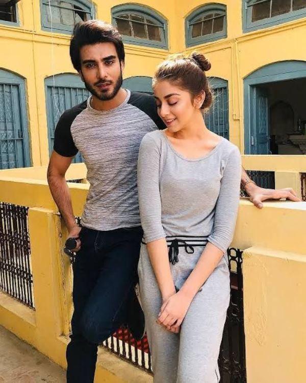 Alizeh Shah with her boyfriend