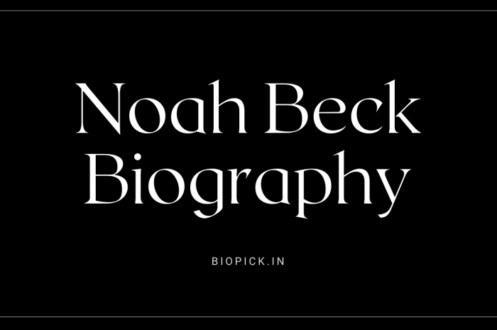 Noah Beck Biography, Age, Girlfriend, Net worth and more