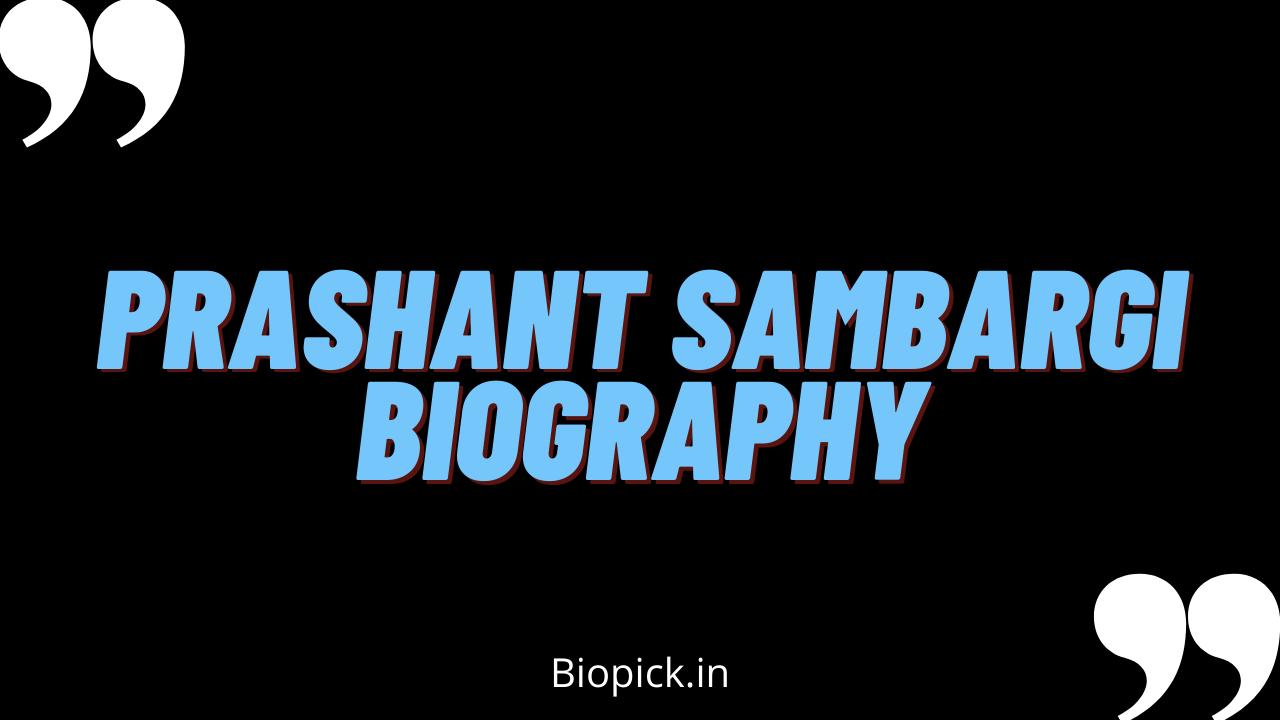 Prashanth Sambargi Family