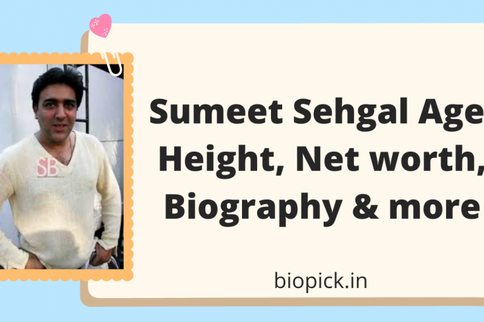Sumeet Sehgal Age, height, wife, Net Worth, biography and more